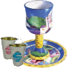 Multi-Color Cups and Goblets