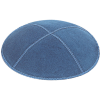 Denim Suede Kippah - Solid