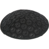 Smileys Suede Kippah - Blind Embossed