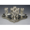 Grape 6-Pc Liqueur Set with tray - Silverplated