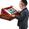 Children's Play Sefer Torah 799 with Aron Kodesh and Shtender