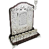 Wall Menorah Silver-Plated - 13809