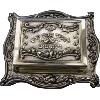 Sterling Silver Matchbox with Tray - SSMBT