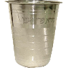 Borei Pri Hagofen Stainless-Steel Kiddush Cup - 4369