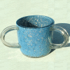 Blue Small-Sequins Ronit Acrylic Washing Cup