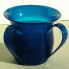 Blue Unbreakable Washing Cup by Ronit Akavia