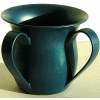 Blue-Green Unbreakable Washing Cup by Ronit Akavia