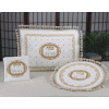 Quilted Gold PESACH 3-Piece Brocade Seder Set - PSB800G