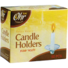 Heavy-Duty Disposable Candle Holders - Pack of 50