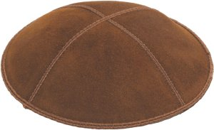 Luggage Suede Kippah - Solid