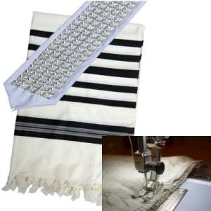 Sew-On Atarah onto a Tallit