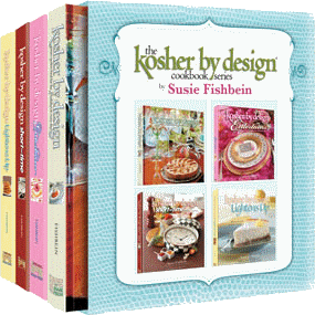 Kosher by Design Cookbook Slipcase Set by Susie Fishbein